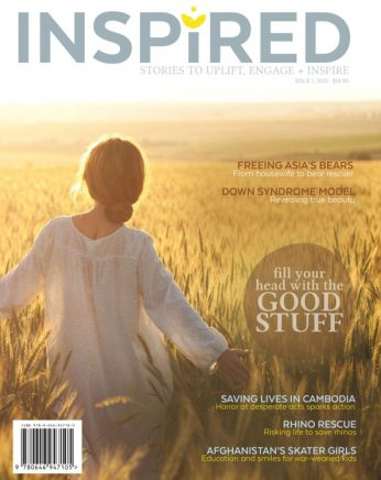 Inspired Magazine Cover 2015